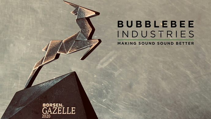 Bubblebee wins Børsen Gazelle 2020 Award