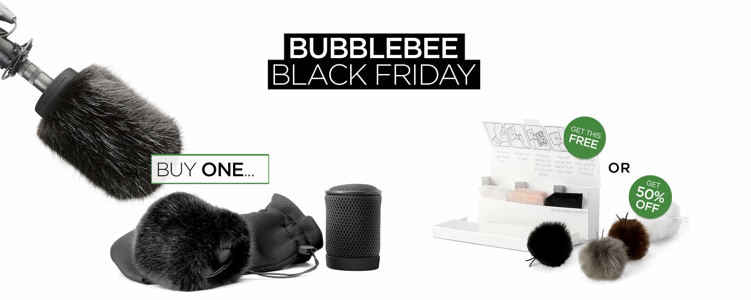 Bubblebee Black Friday 2018