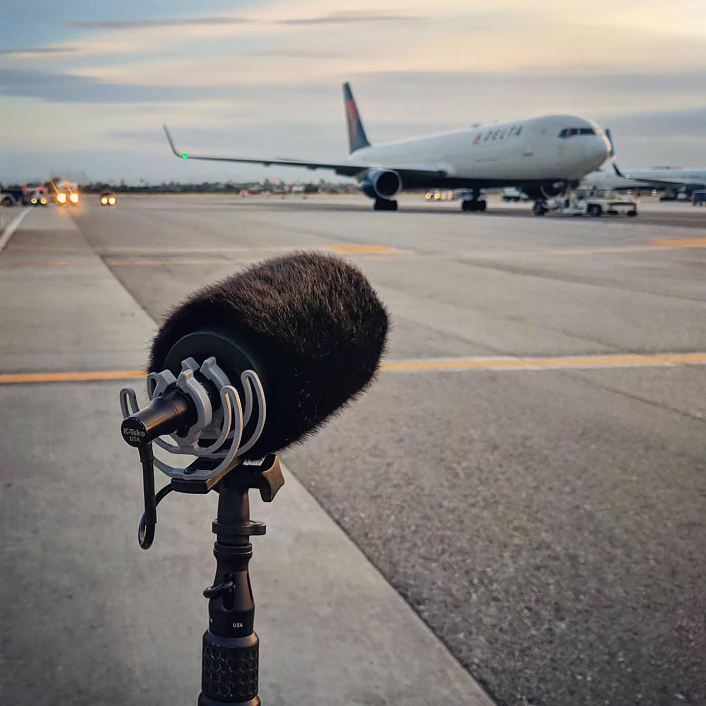 Recording an Airbus