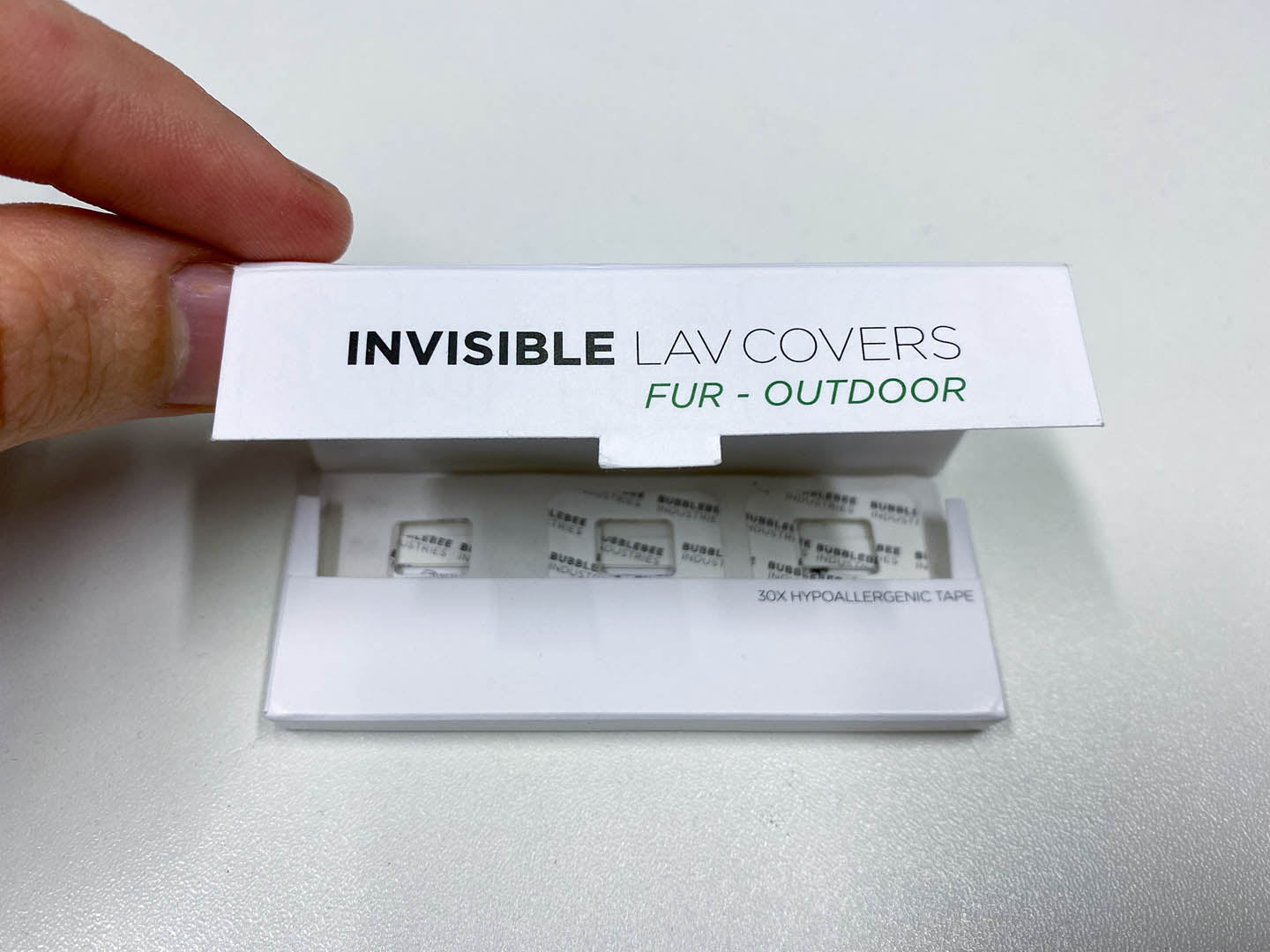 Invisible Lav Covers Fur Outdoor