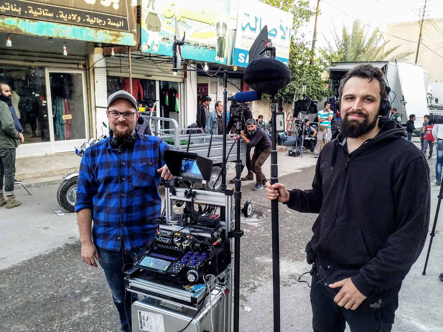 Tim and Pirmin Punke, Boom Operator
