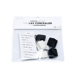 The Lav Concealer for Countryman B3 (6-Pack)