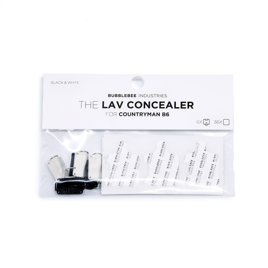 The Lav Concealer for Countryman B6 (6-Pack)