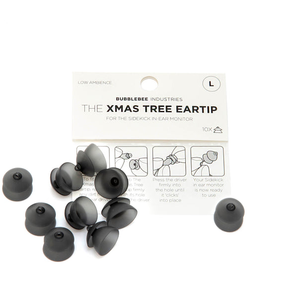 The Sidekick Christmas Tree Eartip, 10-Pack