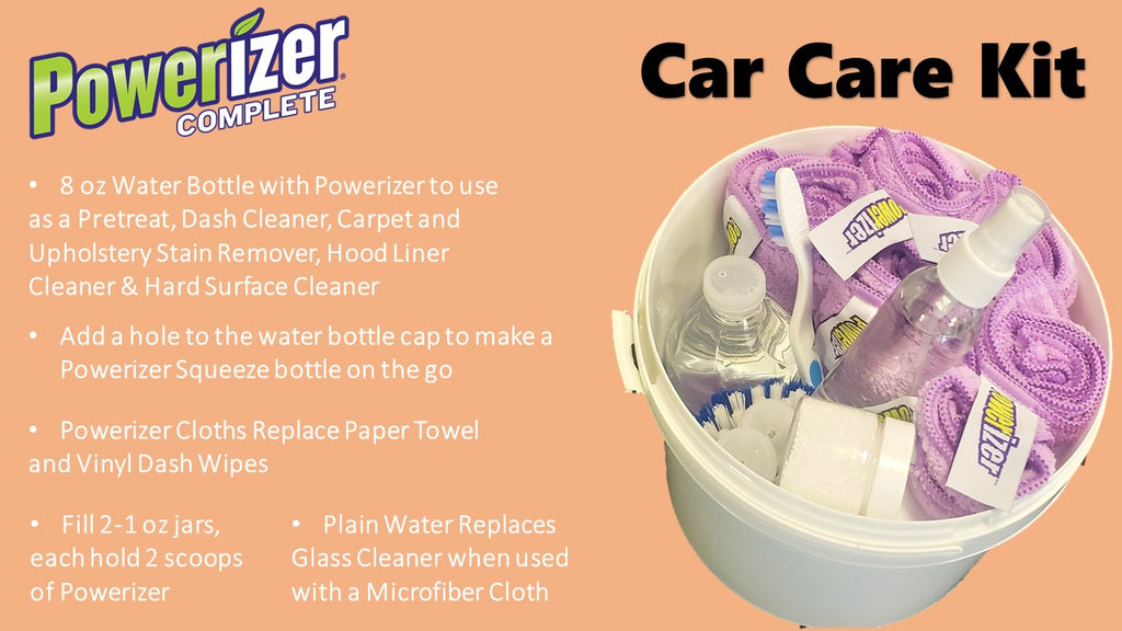 cleaning inside your car