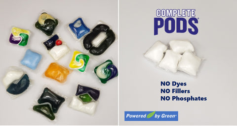 Powerizer complete laundry and dish pods