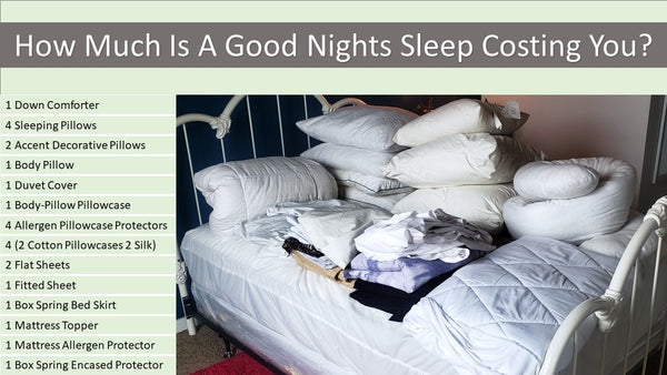 How Must Is A Good Nights Sleep Costing You?