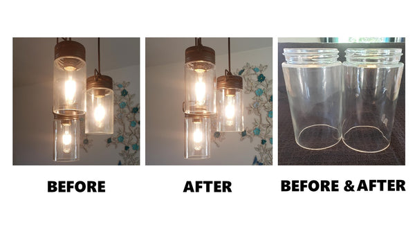 One Cleaning Solution For Light Fixtures