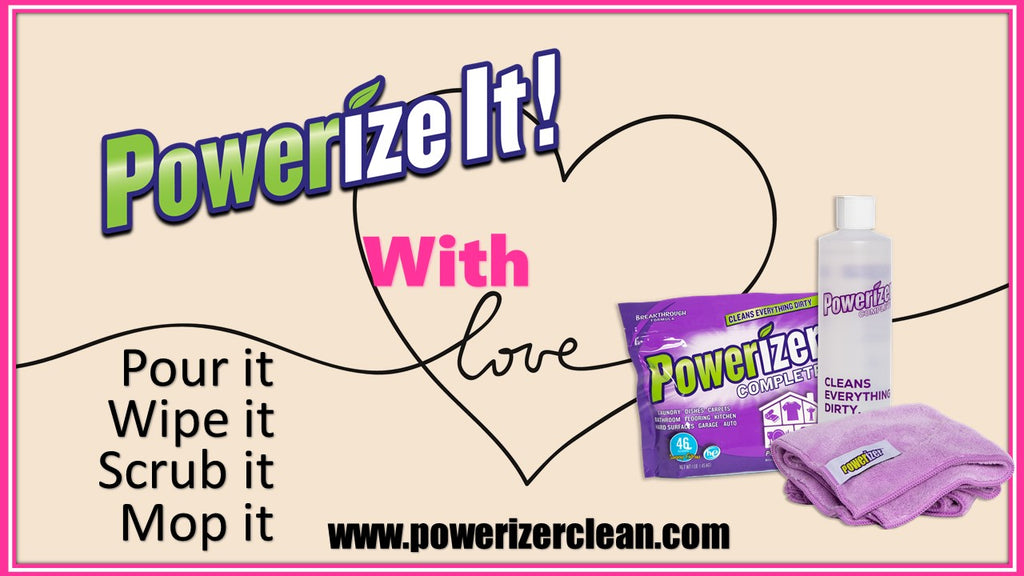 powerize clean it with love