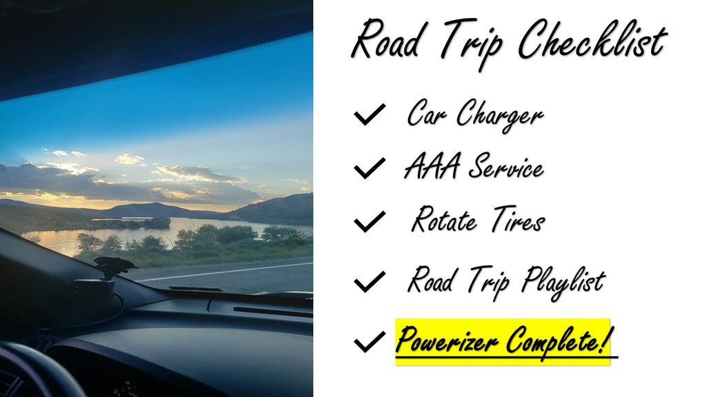 road trip check list