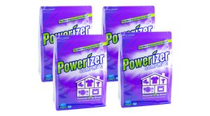 Powerizer Complete Multi-Purpose Detergent & Cleaner - Laundry, Dish, Carpet, Bath - Case 4-Pack