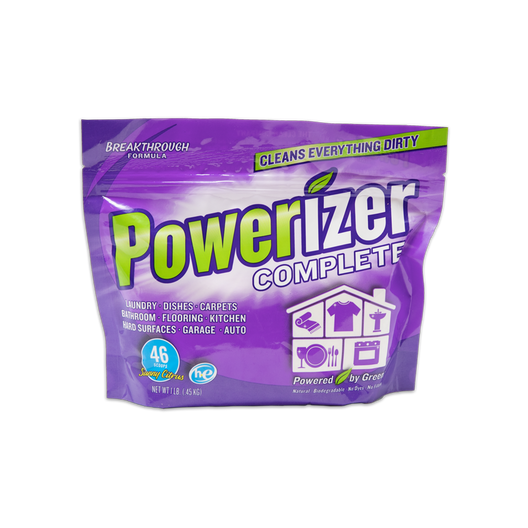 Powerizer Laundry and Dishwasher eco-friendly all purpose detergent 1lb bag