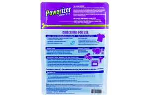 Powerizer Complete Multi-Purpose Detergent & Cleaner - Laundry, Dish, Carpet, Bath, Floor - 6.5 lb Size