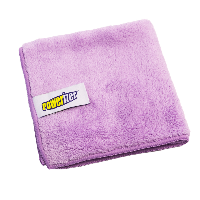 Powerizer Ultra Plush Microfiber Cleaning Cloths 6-pack  350 GSM