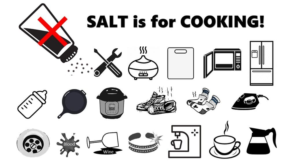 Cleaning With Salt? Save It For Cooking.