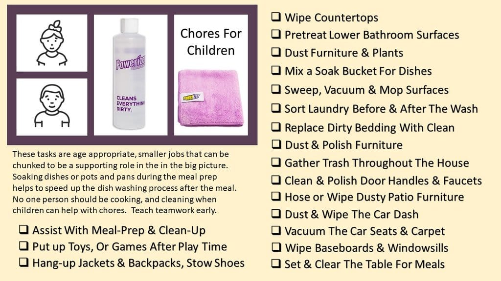How To Make Cleaning Fun For Kids