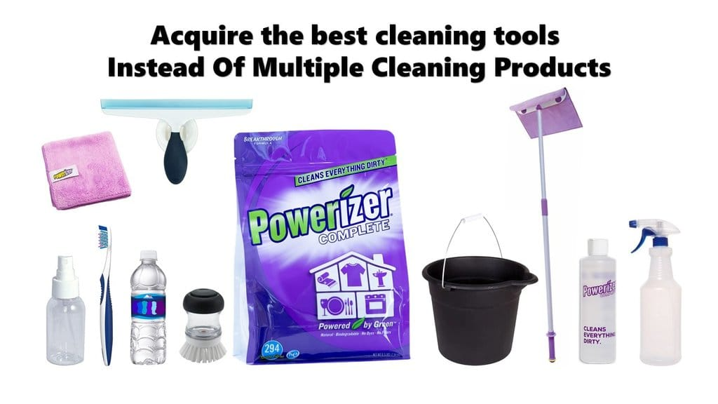Simple Solution to Eliminate Clutter and Chemicals