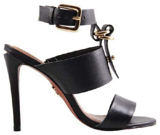 MELL-DRESS SANDAL LEATHER VEG NOTTE.