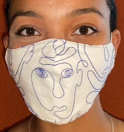 Picasso Face Mask