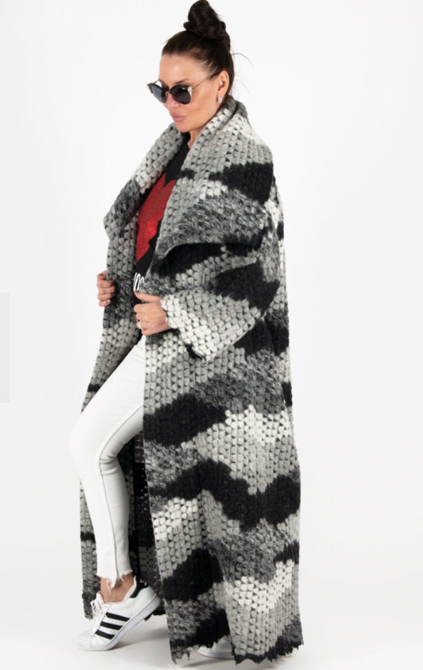 Wool Winter Coat, Winter Cardigan.