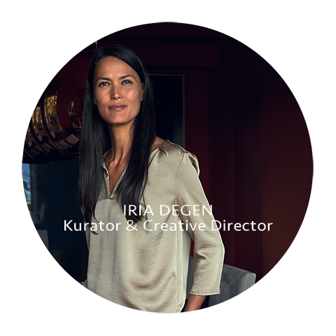 Iria Degen Kuratorin & Creative Director