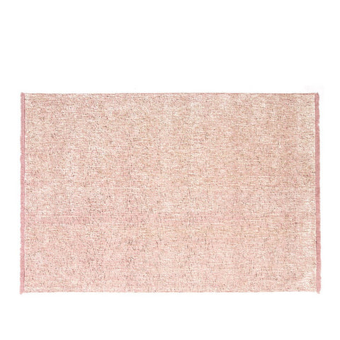 Casalis Teppich Tweed Wolle rosa