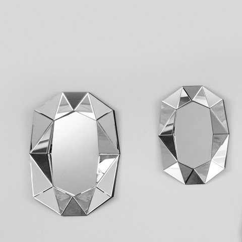 Reflections Spiegel Diamond Small silber