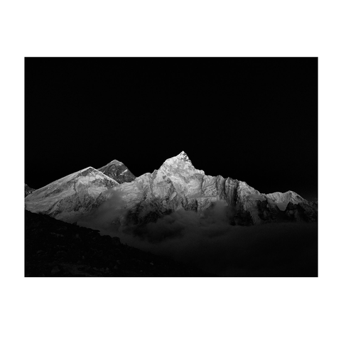 Mount Everest und Nuptse, Nepal