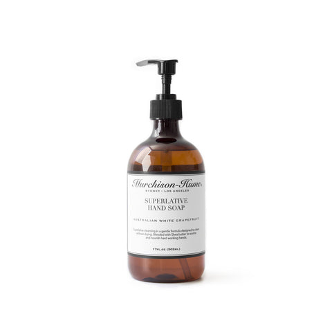 Murchison-Hume Superlative Liquid Hand Soap 500ml Australian White Grapefruit