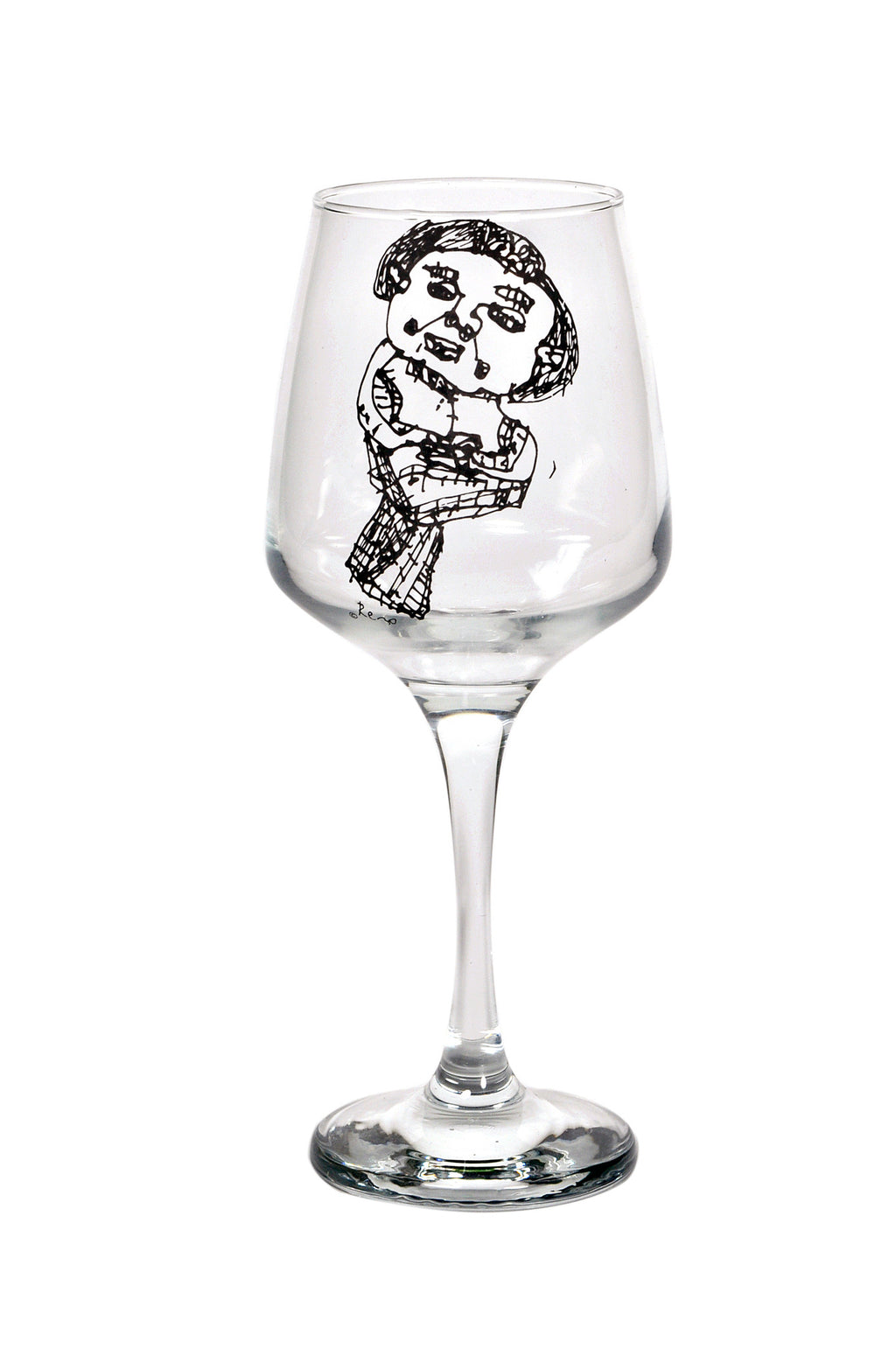 Wanna be a Litle Mermaid Wine Glass - Designremo