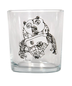 Cypriot Panda Glass - Designremo