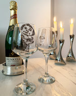 Last inn bildet i Galleri-visningsprogrammet, Wanna be a Litle Mermaid Wine Glass - Designremo