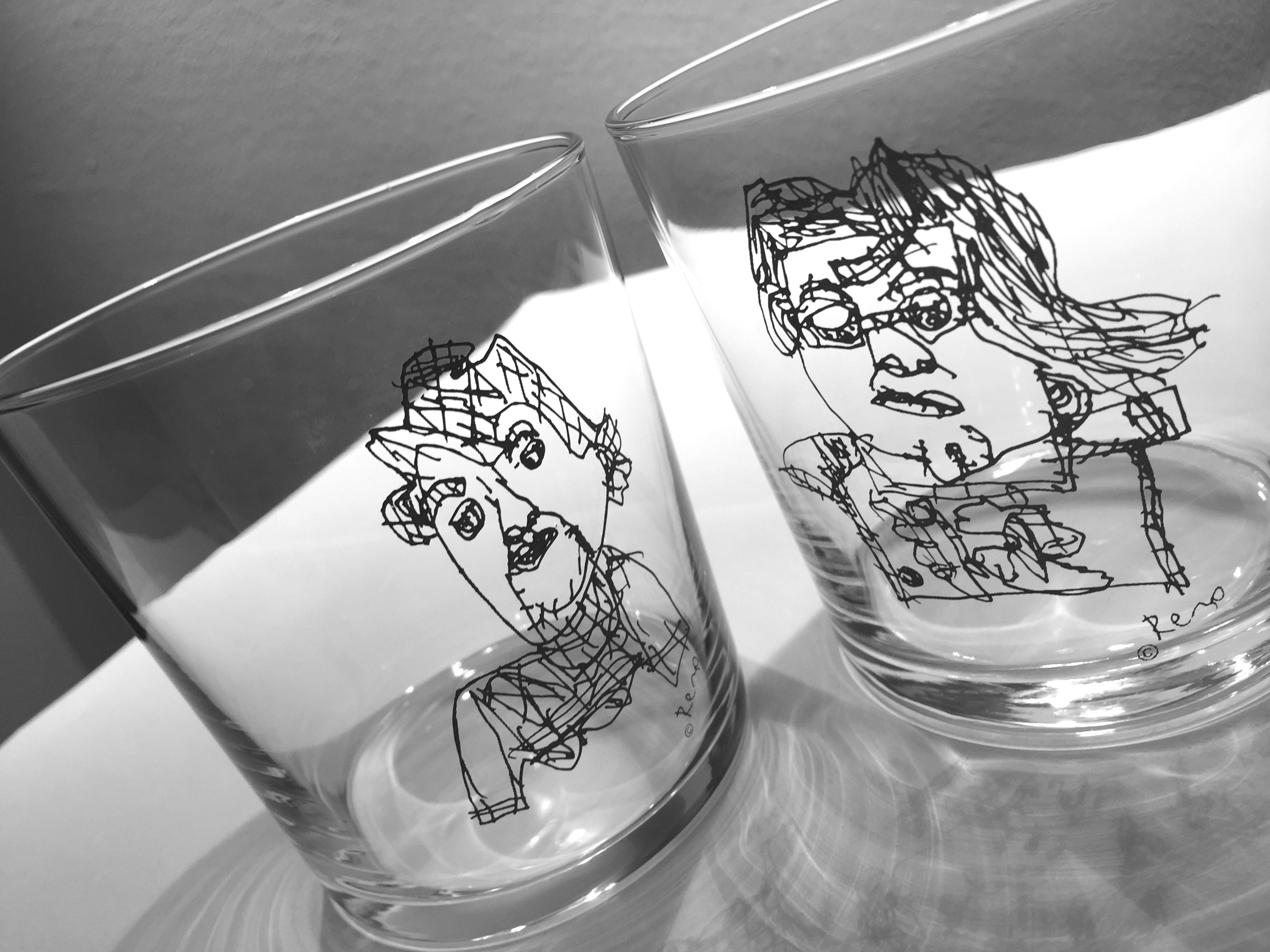 Flying Lady Glass - Designremo