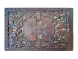 antique Chinese wood stamp