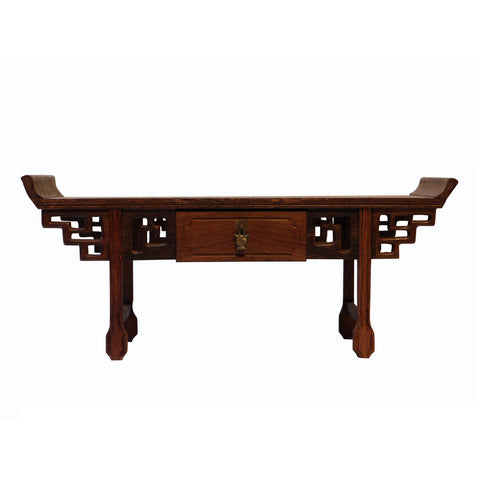 Chinese altar table desktop display stand