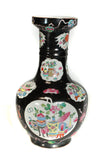Chinese ceramic black color vase