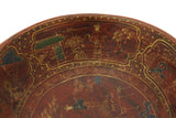 Asian gold painting bowl
