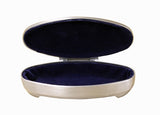 Oval shape box