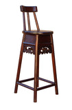 wood bar stool