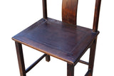 Traditional Chinese  Antique Restore Solid Rosewood Dark Brown Chair n168-3S