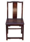 Asian vintage solid wood chair