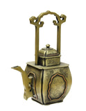 ancient metal bronze teapot