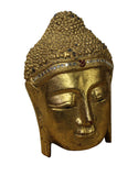 wood Buddha mask