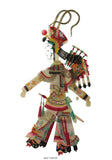 Traditional Chinese Ancient Cultural Shadow Puppetry Lady Warrior n269S