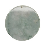 round shape jade pendant gather wealth