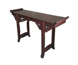 Chinese Ming Style Rosewood Dragon Altar Table Desk jz178S