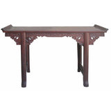 vintage rosewood altar table