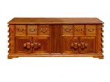 Chinese Rustic Look Lower TV Stand Table Cabinet wk1578S