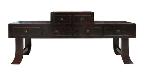 Chinese Ming Style Prayer Altar Console Table TV Cabinet wk1831S