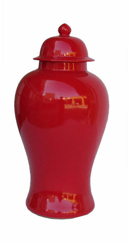 red color general jar
